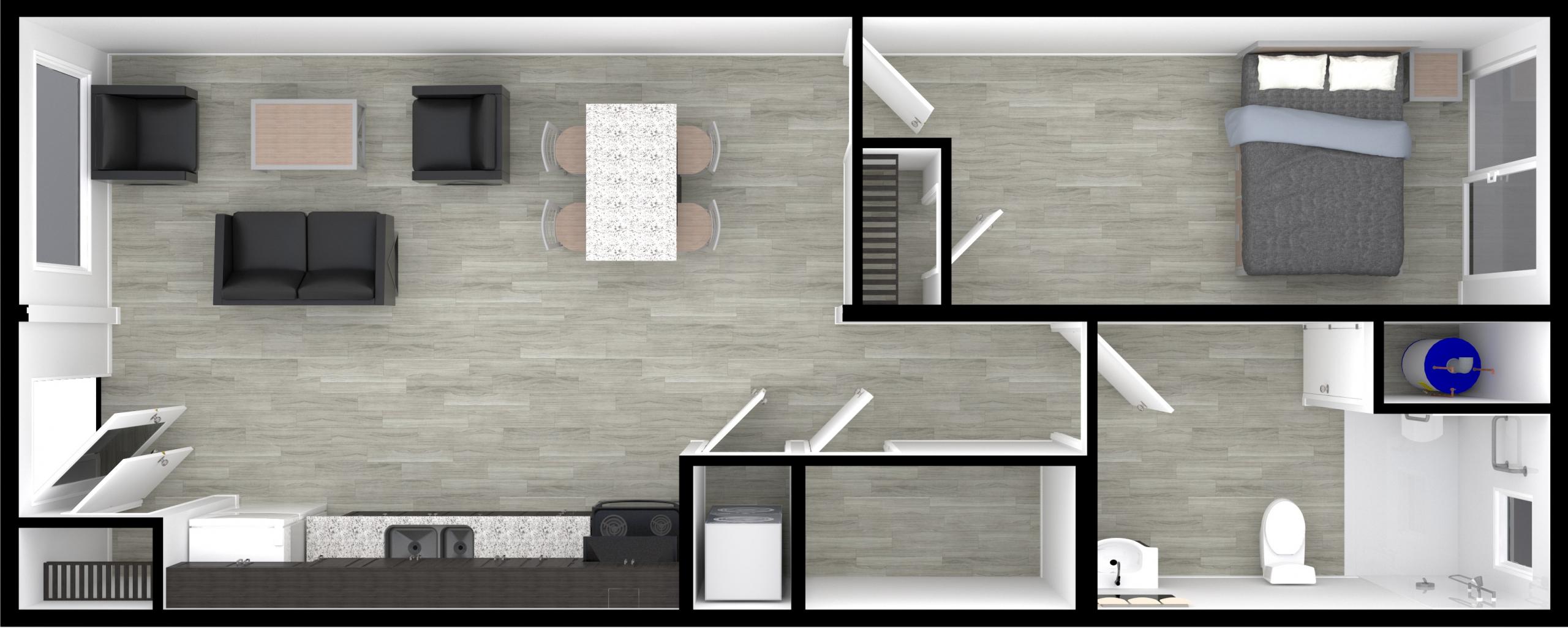 NOW Housing Single Bedroom